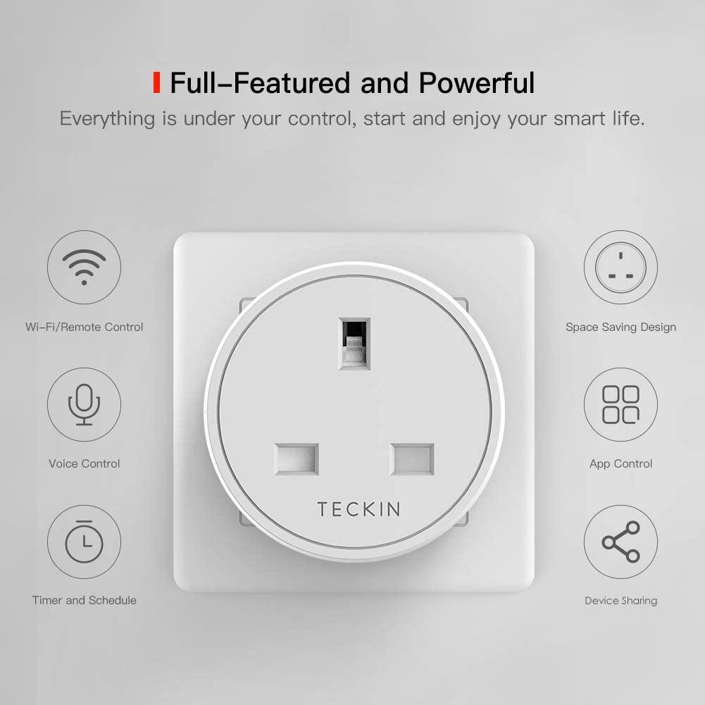 The Teckin smart plug.