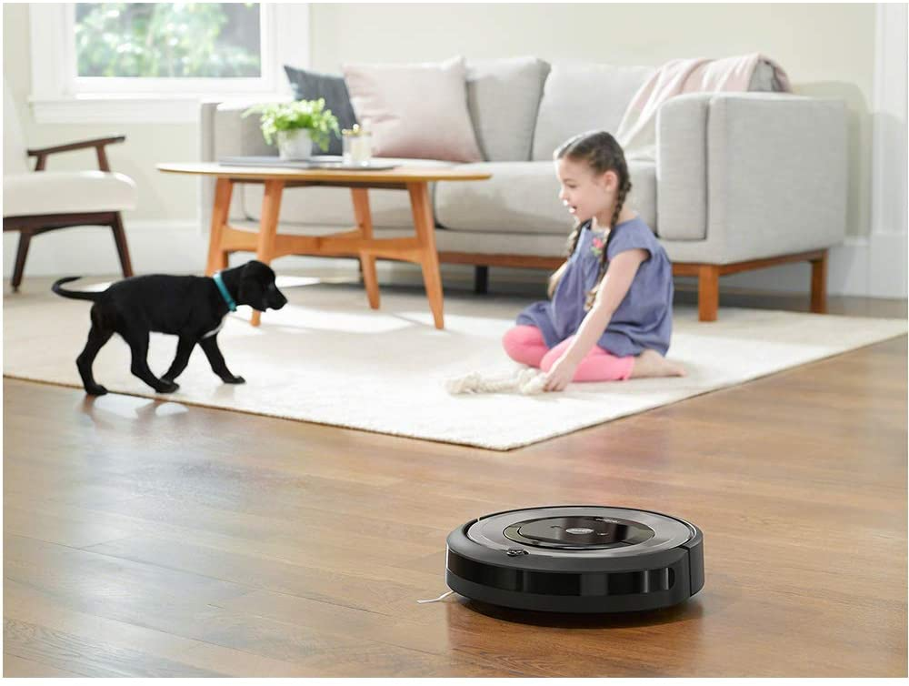 The Roomba, a smart hoover.