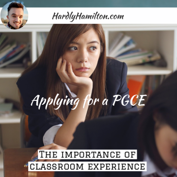 Thumbail for Hardly Hamilton blog about classroom experience