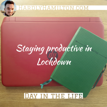 Thumbnail for Hardly Hamilton: Staying productive in Lockdown - a day in the life